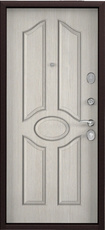 Дверь Torex Starter Букле шоколад  Ларче бьянко СК1