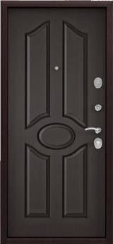 Дверь Torex Starter Античная медь  Ларче шоколад СК1