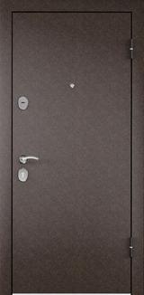 Дверь Torex Starter Античная медь  Ларче шоколад СК4