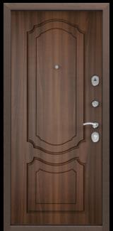 Дверь Torex Delta-M 10 Античная медь RGSO Орех лесной D1