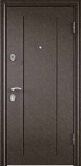 Дверь Torex Delta-M 10 Античная медь RGSO Венге D1
