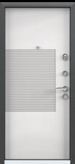Дверь Torex Super Omega-10 Черный шелк RP1 Белый RS4