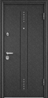 Дверь Torex Super Omega-10 Черный шелк RP2 Белый RS7
