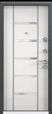 Дверь Torex Super Omega-10 Черный шелк RP3 Белый RS1