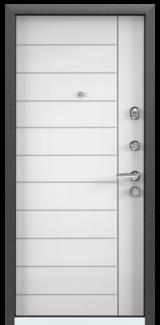 Дверь Torex Super Omega-10 Черный шелк RP3 Белый RS13