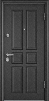 Дверь Torex Super Omega-10 Черный шелк VDM1 Белый RS13