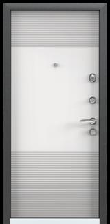 Дверь Torex Super Omega-10 Черный шелк VDM1 Белый RS3