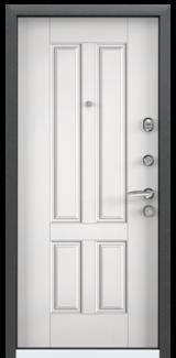 Дверь Torex Super Omega-10 Черный шелк VDM1 Белый RS7