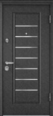 Дверь Torex Super Omega-10 Черный шелк VDM-2N Белый RS14