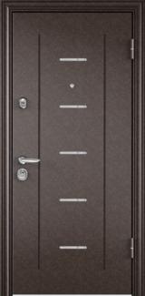 Дверь Torex Super Omega-10 Античная медь RP4 Белый RS14