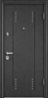 Дверь Torex Super Omega-10 Черный шелк RP3 Дуб бежевый RS7
