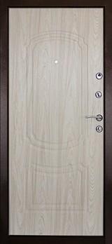 Дверь Дверной континент Фаворит Античная медь  Беленый дуб