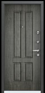 Дверь Torex Super Omega-10 Черный шелк VDM-2N Дуб пепельный RS7
