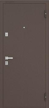 Дверь Бульдорс 12 Античная медь  Дуб беленый