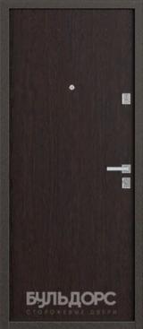 Дверь Бульдорс 12 Античная медь  Венге гладкий