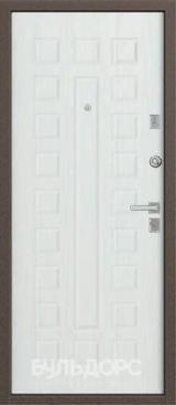 Дверь Бульдорс 13 Античная медь  Шамбори светлый А-3