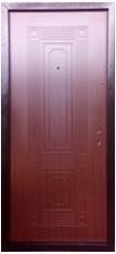 Дверь Меги ДС-531 Античная медь  Итальянский орех