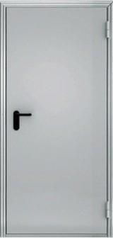 Дверь Меги ПДС-1 ЕС-60 Противопожарная RAL 7038  RAL 7038