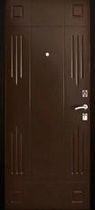Дверь Алмаз Гранат Античная медь  Венге №147