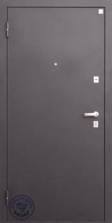 Дверь Алмаз Кварц 11 (закрывание без ключа) Шелк бордо  Венге №122