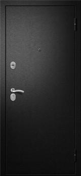 Дверь Алмаз Топаз 11 Черный шелк  Беленый дуб №15