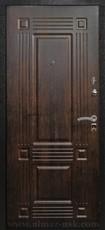 Дверь Алмаз Топаз Черный шелк  Тиковое дерево №8