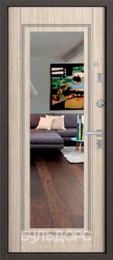 Дверь Бульдорс 13Т Античная медь  Венге светлый Т-1