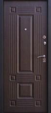 Дверь Алмаз Рубин Черный шелк  Венге №8