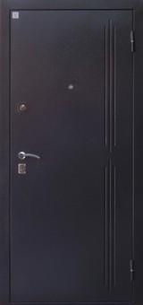 Дверь Алмаз Рубин 2 Черный шелк  Тиковое дерево №107