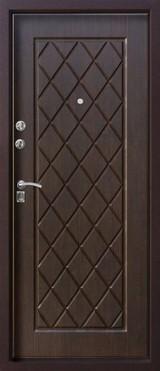 Дверь Алмаз Алмаз Шелк бордо  Тиковое дерево №28