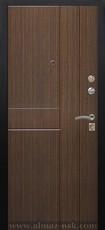 Дверь Алмаз Алмаз 100 Черный шелк  Орех №81