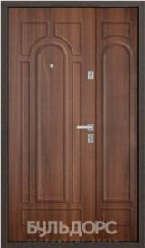 Дверь Бульдорс 13Д Античная медь  Орех лестной G-2