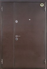 Дверь Бульдорс 13Д Античная медь  Орех лестной G-3