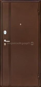 Дверь Город мастеров Амур Античная медь Волна Вишня дикая №74