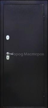 Дверь Город мастеров МеДВЕРЬ М Черное серебро  Черное серебро
