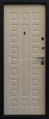 Дверь Город мастеров Виктория Черный металлик  Дуб седой тонкий