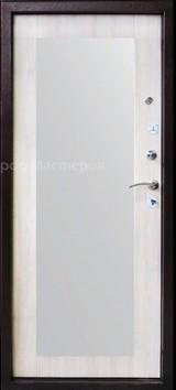 Дверь Город мастеров Виктория+ (с зеркалом) Античная медь  Дуб седой тонкий №106