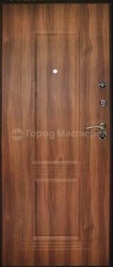 Дверь Город мастеров Брест Коричневый сатин  Орех королевский №36