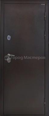 Дверь Город мастеров МеДВЕРЬ 2.0 Античная медь  Алтайская лиственница №9