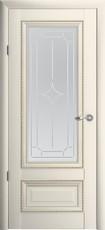Дверь Albero Галерея Версаль 1 со стеклом Ваниль Винил