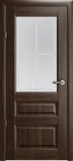 Дверь Albero Галерея Эрмитаж 2 со стеклом Дуб антик Винил