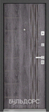Дверь Бульдорс 45 Дуб шале серебро N11 Дуб шале серебро N-11
