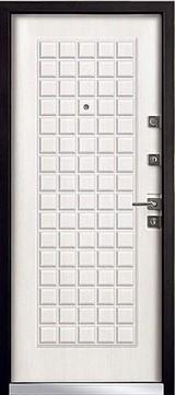 Дверь Mastino Terra Черный шелк D-3 Шамбори светлый MS-6