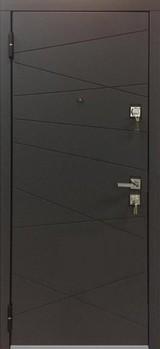 Дверь Mastino Monte Дуб графитовый матовый MS-12 Белый софт MS-12
