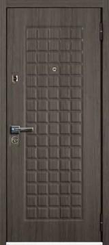 Дверь Mastino Mare (Marke) Каштан темный MS-6 Шамбори светлый MS-7 Зеркало
