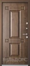Дверь Бульдорс Termo-2 Античная медь  Орех грецкий TB-2