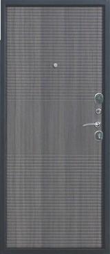 Дверь Цитадель 7,5см Гарда муар Черный муар  Венге тобакко