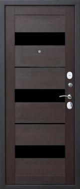 Дверь Цитадель Гарда муар Черный муар  Кипарис царга