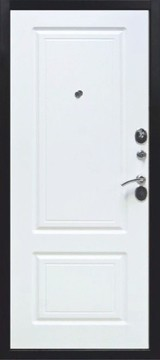 Дверь Цитадель 10см Толстяк Античная медь  Белый ясень