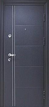 Дверь Цитадель Ferrum Чёрный шёлк  Венге